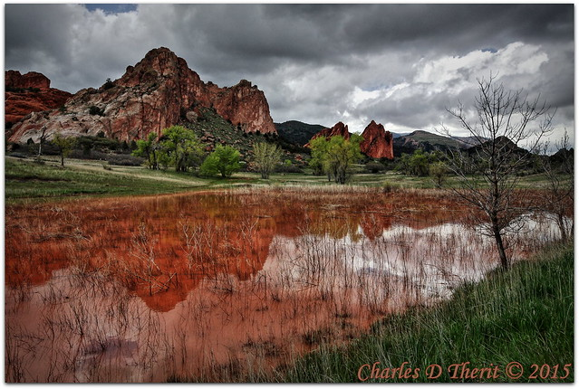 Garden of the Gods Reflections