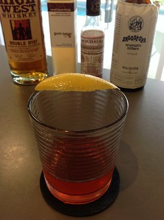 Sazerac with High West Double Rye!, gum syrup, Peychaud's and Angostura bitters, St. George absinthe #cocktail #cocktails #craftcocktails #sazerac | by *FrogPrincesse*