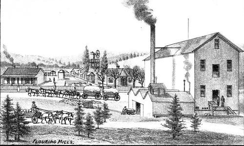 Fort Jones, California - Flouring Mills