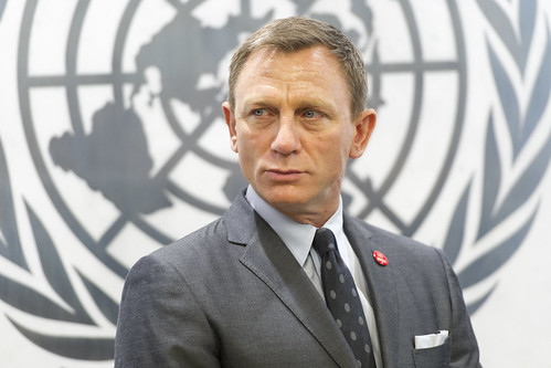 Secretary-General Names Daniel Craig as UN Global Advocate on Elimination of Landmines | by United Nations Photo
