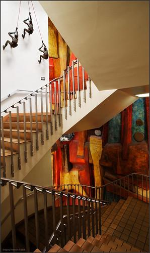 Zimmerman Library Stairwell
