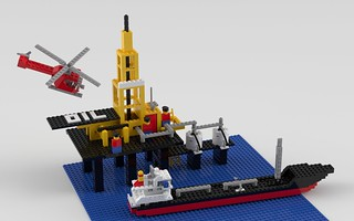 373 Offshore Rig with Fuel Tanker | by SafePit