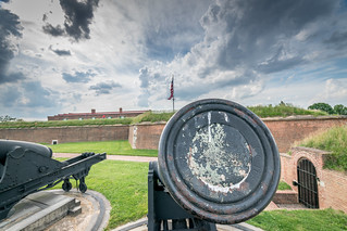 Cannons of Fort McHenry