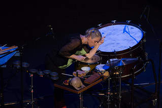 Garth Paine keynote concert @ NIME 2016 (with Vanessa Tomlinson)   by johnrobertferguson