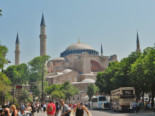 Hagia Sophia on Beautiful Spring Day | by fightgravity4evr