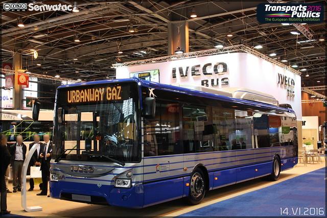 Iveco Bus Urbanway 12 GNC - Tam Montpellier 3M (Transports Alternatifs de Montpellier Méditerranée Métropole)