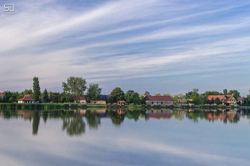 lake reflection landscape serbia subotica palic vojvodina srbija jezero ludas nikkor1855mmvr nikond5100