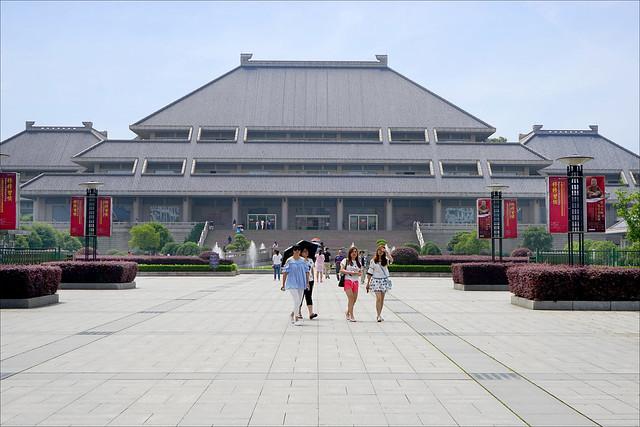 Le musée de la province du Hubei (Wuhan, Chine)