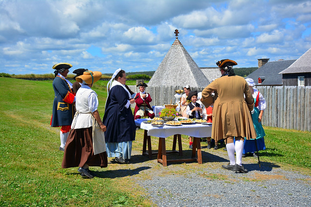 A Visit to Fortress Louisbourg