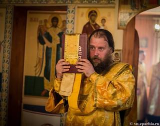 Божественная литургия в пос.Котово 160