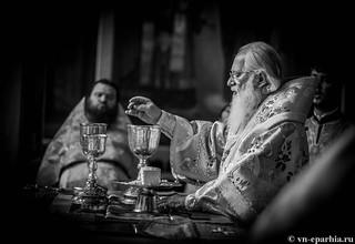 Литургия в Иверском монастыре 140