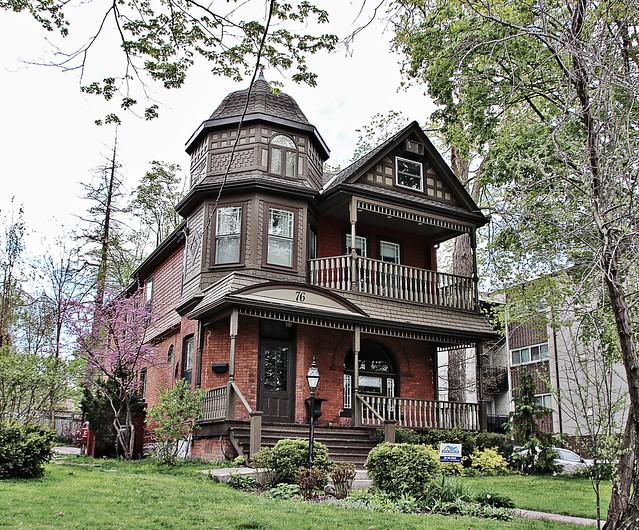 Stratford Ontario ~  Canada ~  76 William St ~ Queen Anne Heritage House