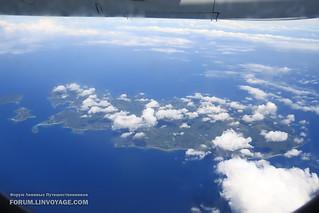 Borocay island. Aerial photo