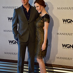 "Ashley Zukerman & Rachel Brosnahan at WGNAmerica's ""Manhattan"" Emmy's For Your Consideration Event - DSC_0712"