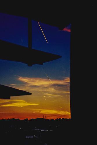 travel sunset sky sun art texture colors weather clouds outdoors nikon flickr cityscape serbia silhouettes explore nikkor figures caffe artland twop srbija formes themagichour banjaluka republikasrpska 365dayproject artristic airplaneonthesky