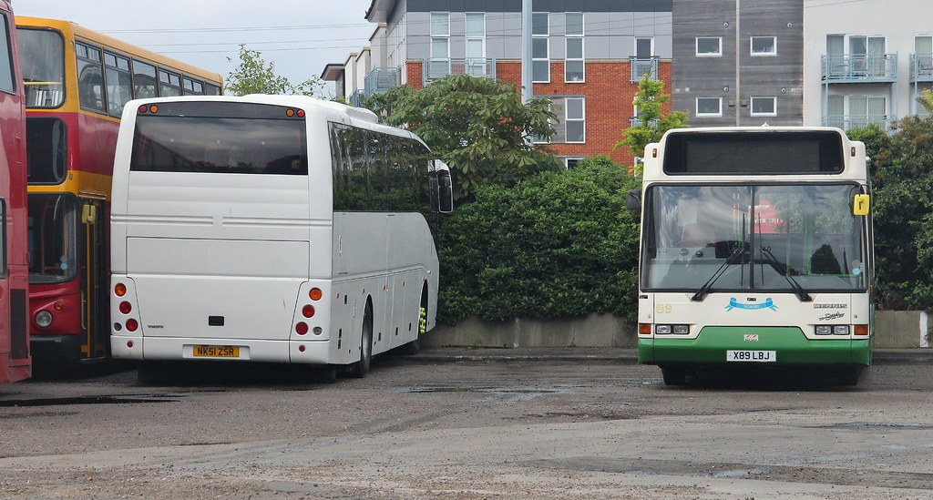 Nk51 Zsr Ipswich Buses Carters Volvo Coach And X89 Lbj