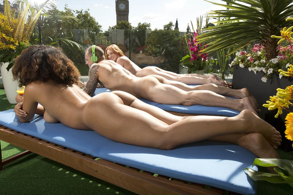 Naked terrace