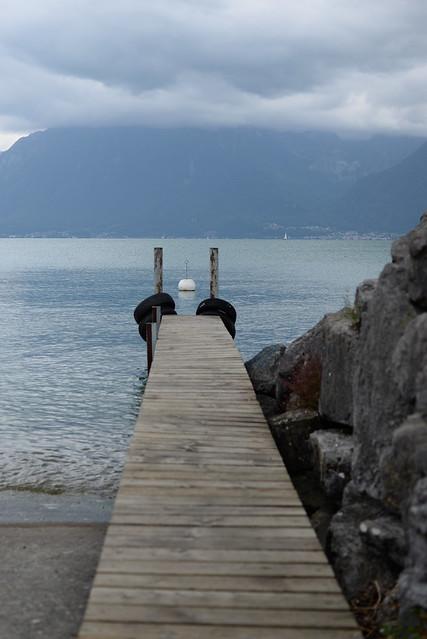 Suisse Vevey La Tour de Peilz ponton - atana studio
