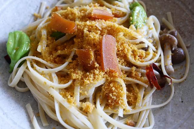 土, 2016-08-27 12:29 - カラスミ・スパゲティ Spaghetti alla Bottarga