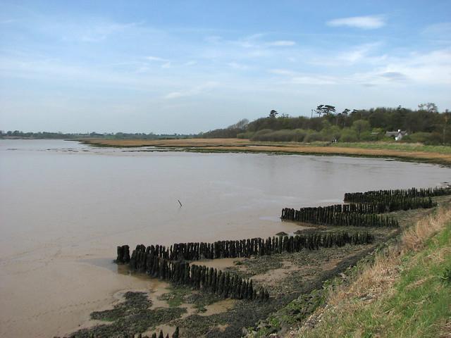 The River Deben at Ramsholt