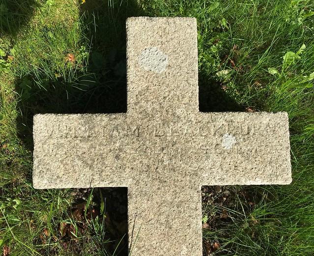 Grave of Warden Blackburn