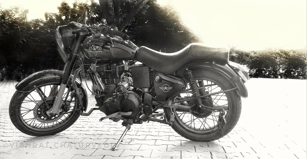 Royal Enfield Bullet Wallpaper Classic By Vibhrat Chaturve