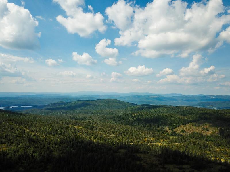 14-Utsikt mot Numedal (drone)