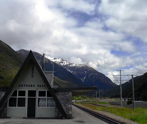 Arthurs Pass Train Station - South Island, New Zealand | by neeravbhatt