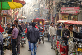 Middle of the Road | Old Delhi, India | by t linn