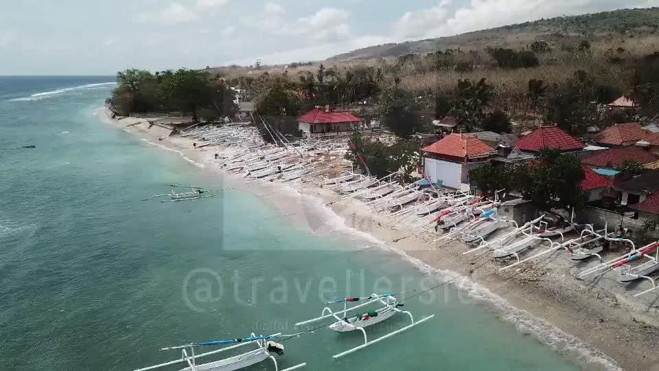 Kutampi Beach, Nusa Penida, Bali