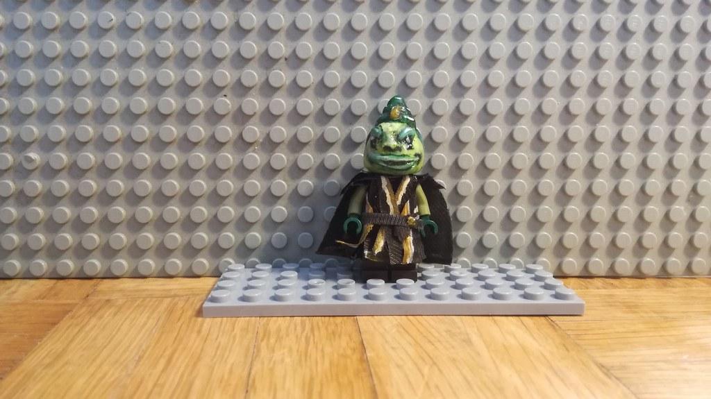 Custom Made Lego Boss Nass Dav Flobarczok Flickr