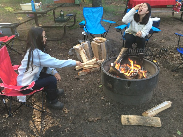 Camping  Trip at Wild River State Park - I Can Camp! Program