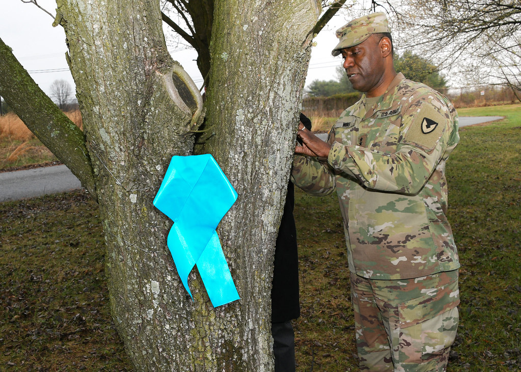 SHARP Teal Ribbon Around the Tree Kickoff | U S  Army CCDC