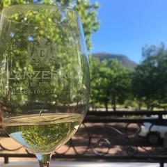 Tasting at Lanzerac wine estate