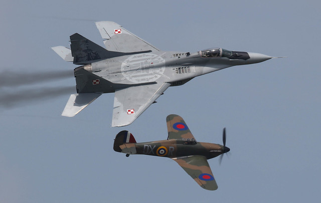 Hurricane Mk I P2902  Mikoyan MiG 29 105 014-1