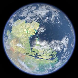 Terraformed Mars   by Kevin M. Gill