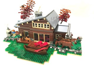 Lakeside Cottage | by Vedosololego