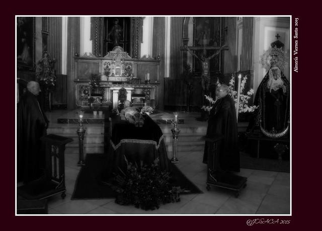 Almería Hermandad Santo Sepulcro: Viernes de Dolores 2015