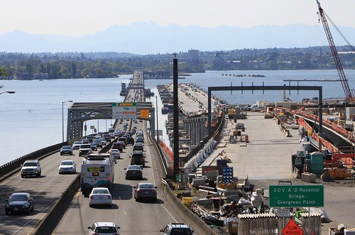 SR 520 Floating Bridge and replacement | by SounderBruce