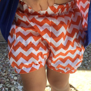Chevron moon pants (shorts)