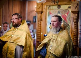 Божественная литургия в пос.Котово 250