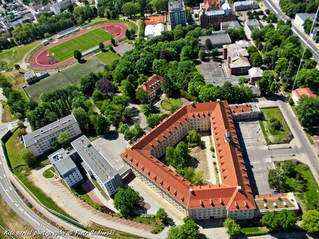 Koszalin in June (from Piłsudski square)