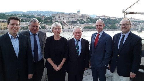 With Parliamentary and European colleagues in Budapest - May 2015 | by bobneillbc