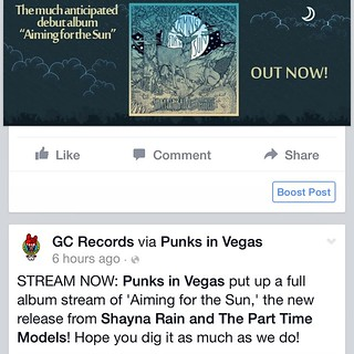 Stream it. Consume it. Love it. #shaynarain #GCRecords www.punksinvegas.com