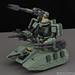 Motor King 1/100 Zaku Tank