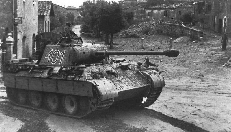 Panther '401' from I. Departamento/Tanques del Regimiento de 4