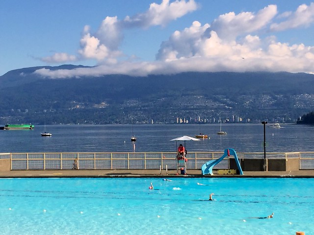 Morning Swim at Kits Pool