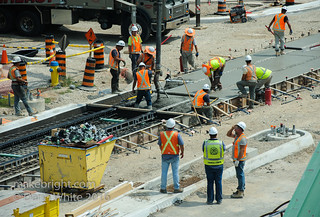 King Street concrete pour for ION 038 | by onethingafteranother