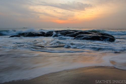 cwc540 beach sunrise kovalam chennai ecr earlymorning