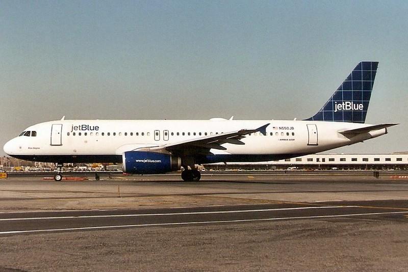N550JB A320 1891 JFK Mar-06